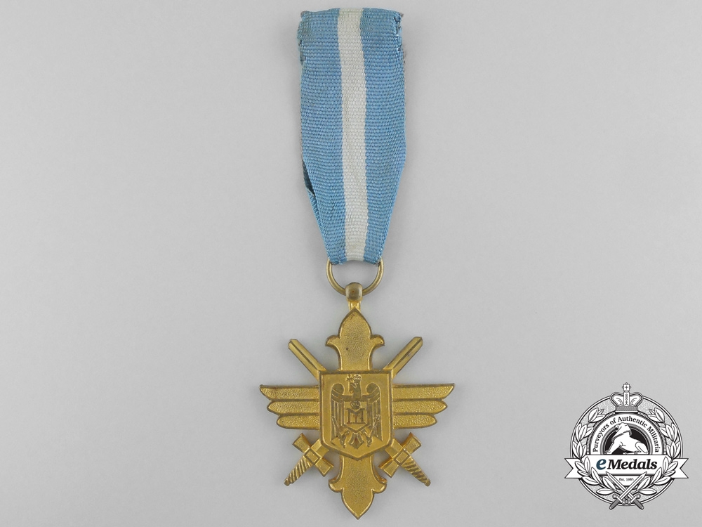 eMedals-A Romanian Air Force Bravery Decoration; 1st Class