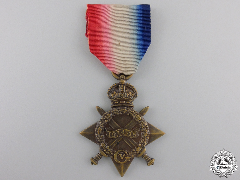eMedals-A 1914-15 Star to the 2nd Canadian Infantry Battalion