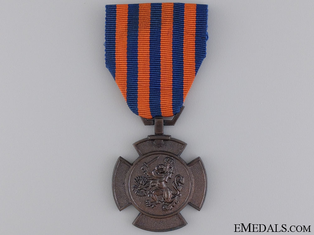 eMedals-A  Bronze Lion of the Netherlands
