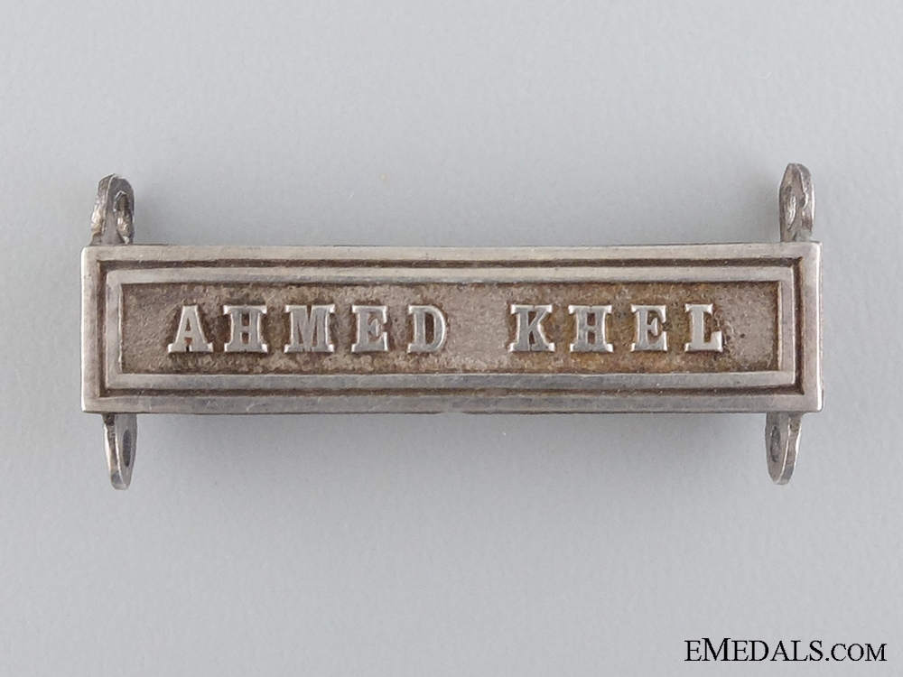 eMedals-A Ahmed Khel Clasp for the Afghanistan Medal 1878-1880
