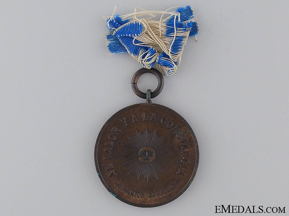 eMedals-A Argentinian Campaign Medal  for Allies in Paraguayan War