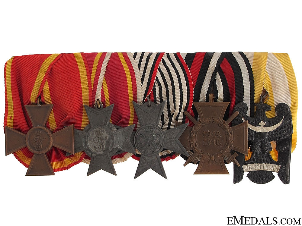 eMedals-A Baden Army Service Medal Bar
