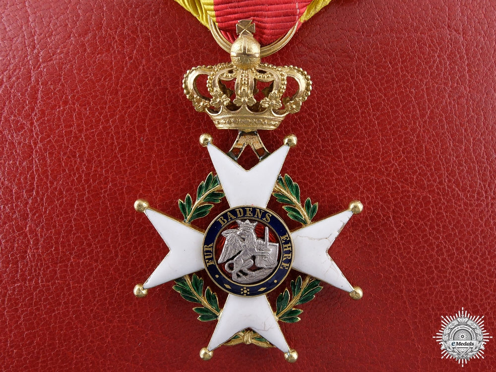 eMedals-A Baden Military Karl Friedrich Merit Order; Knights Cross