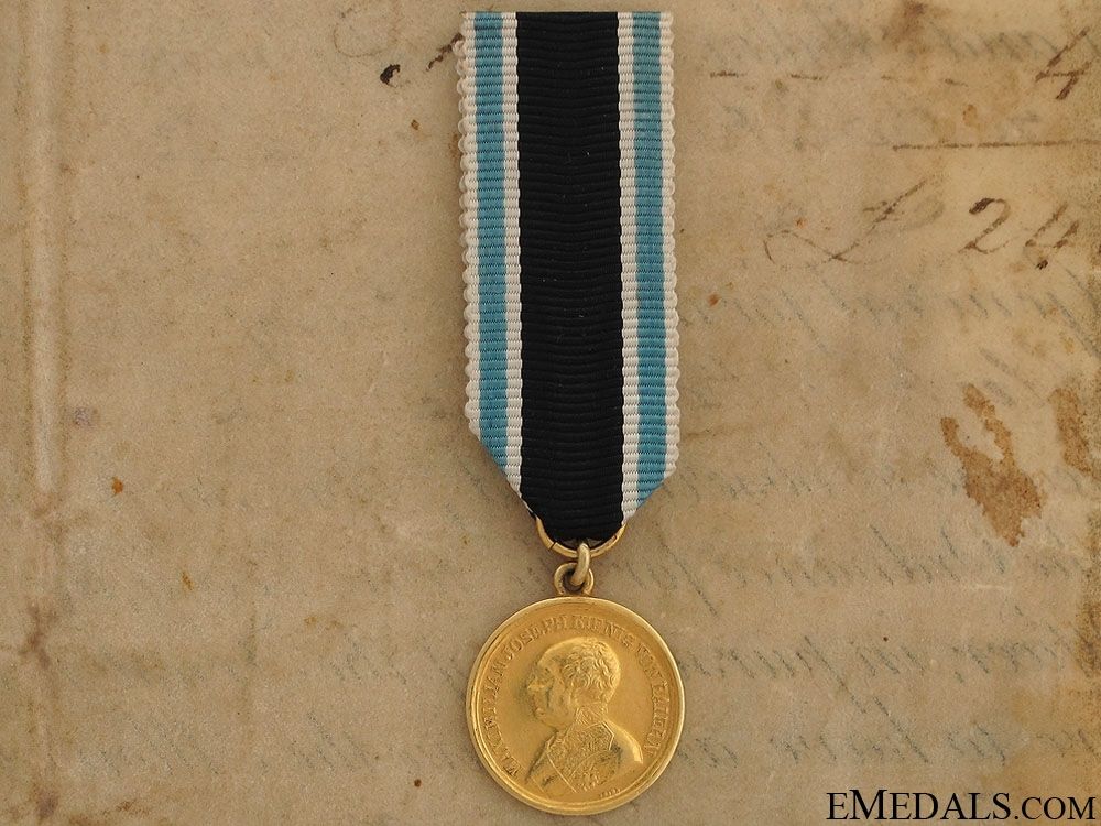 eMedals-A Bavarian Gold Military Merit Medal