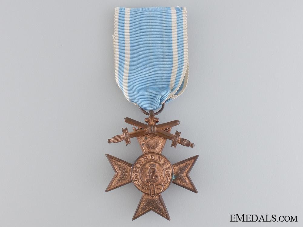 eMedals-A Bavarian Military Merit Cross; 3rd Class by Deschler & Sohn
