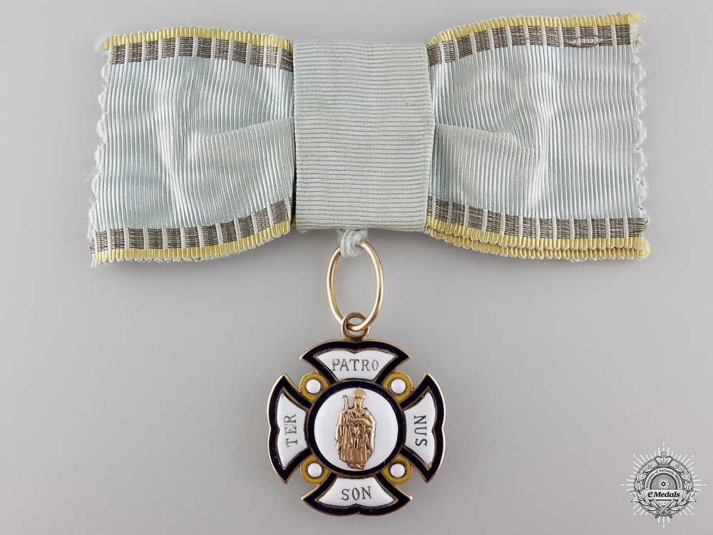 eMedals-A Bavarian Order of St. Anna 1783-1918 in Gold