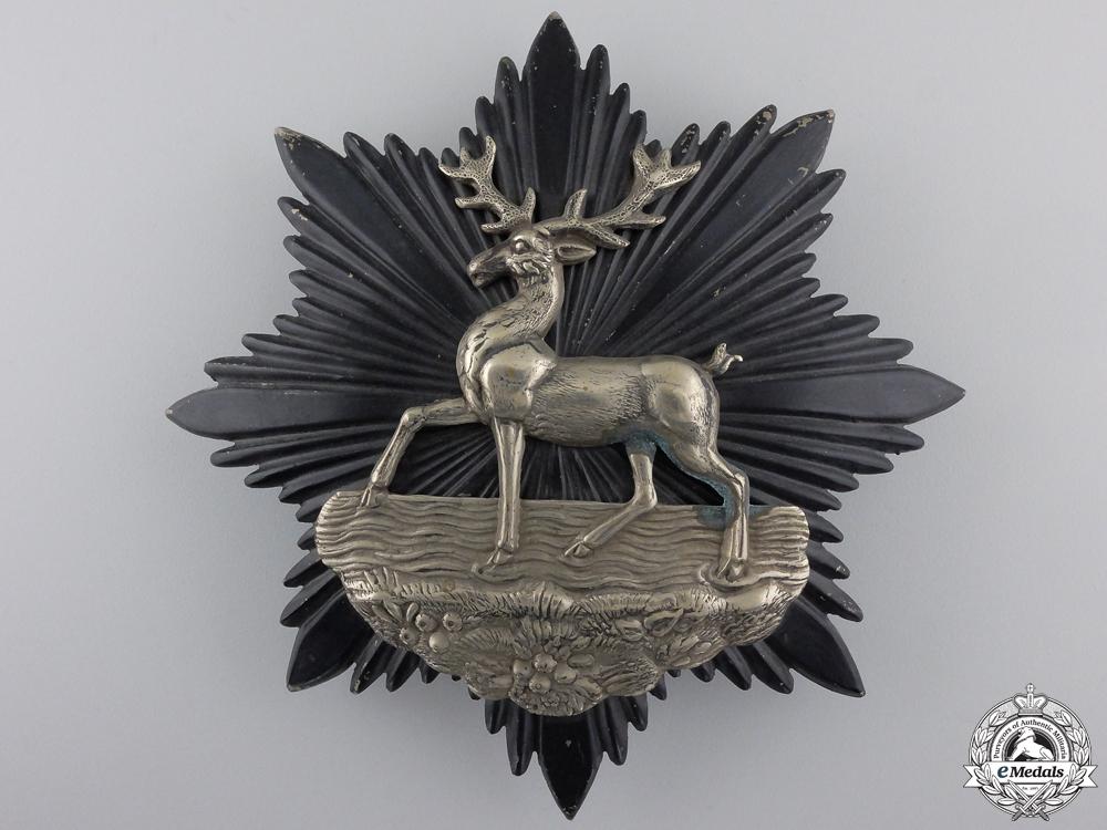 eMedals-A Bedfordshire Regiment Helmet Plate