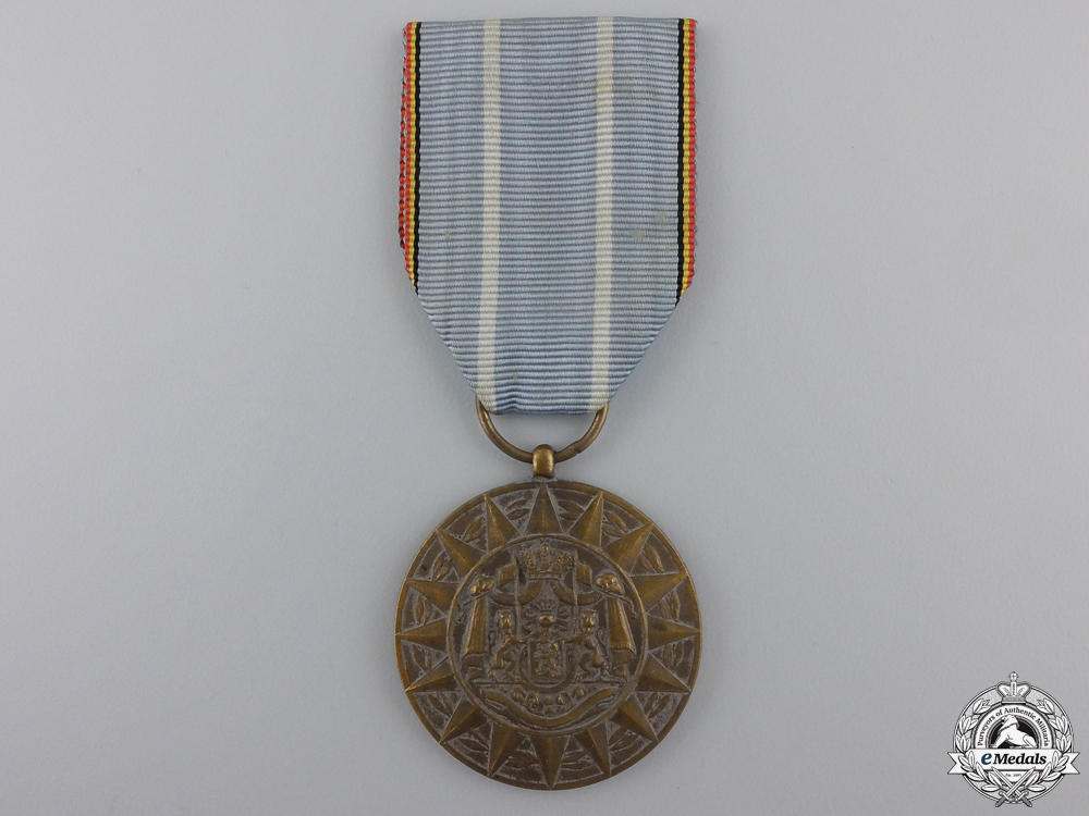 eMedals-A Belgian Commemorative Medal for Foreign Operations in Korea