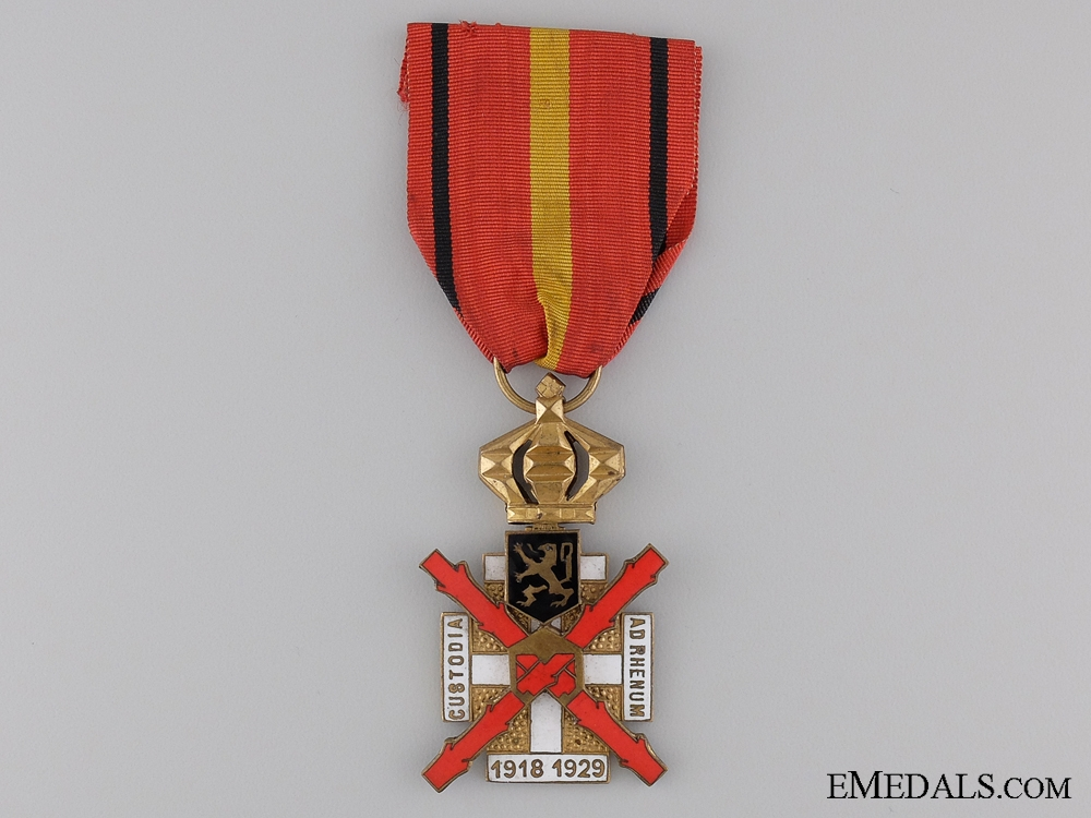 eMedals-A Belgian Cross for the Occupation of the Rhineland