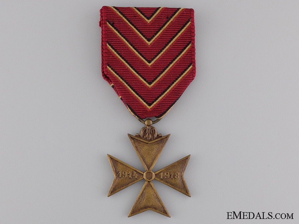 eMedals-A Belgian Deportees' Cross 1914-1918