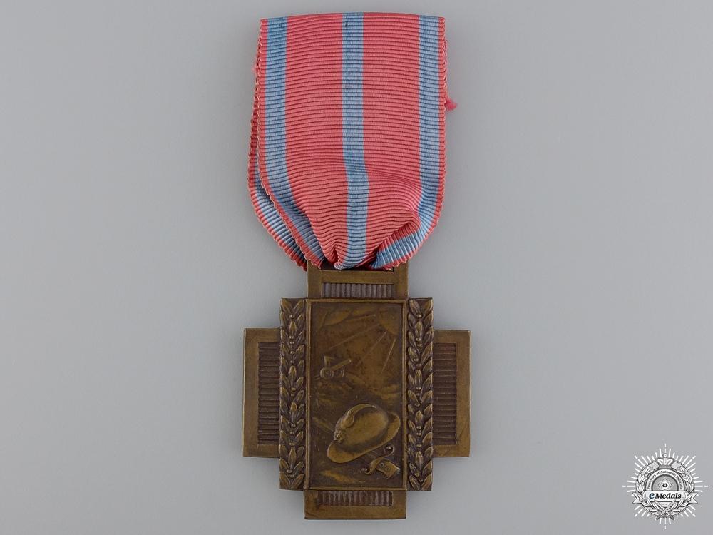 eMedals-A Belgian Fire Cross 1914-1919; Type I