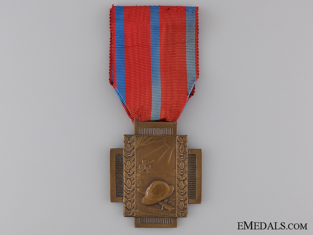 eMedals-A Belgian Frontline (Fire) Service Cross 1914-1918; Type I