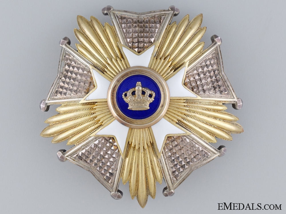 eMedals-A Belgian Order of the Crown; Grand Cross Star