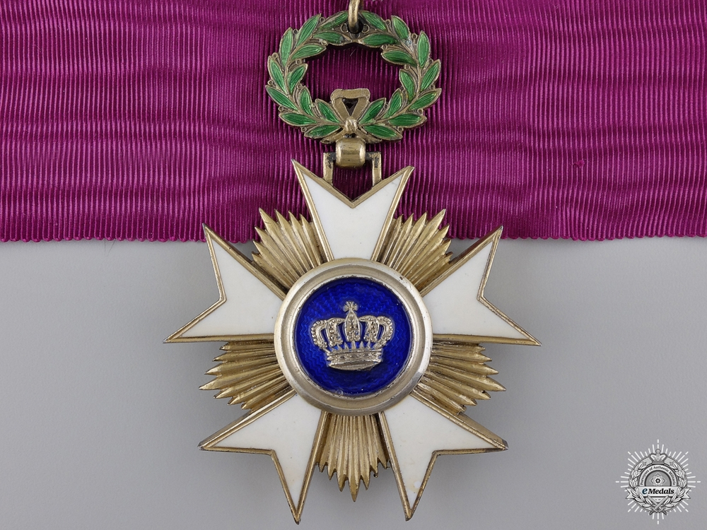 eMedals-A Belgian Order of the Crown; Commander's