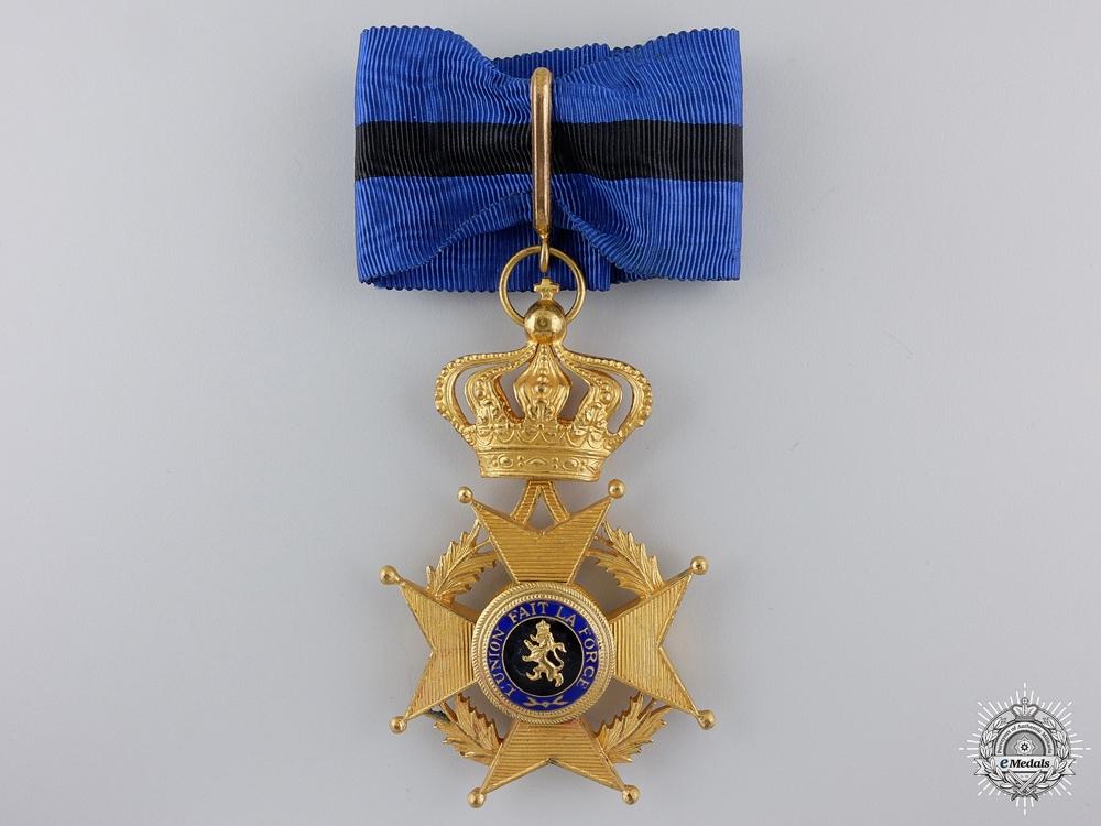eMedals-A Belgian Order of Leopold II; Commanders Neck Badge