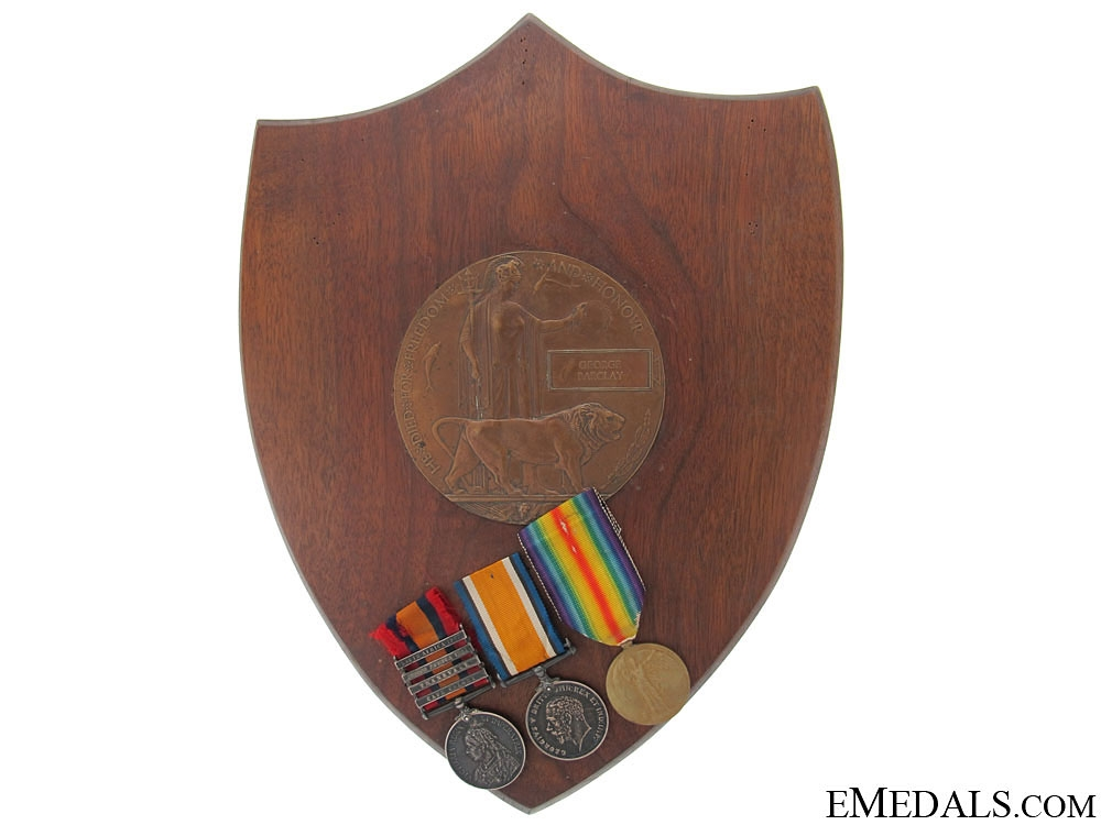 eMedals-A Boer War and WWI Memorial Group