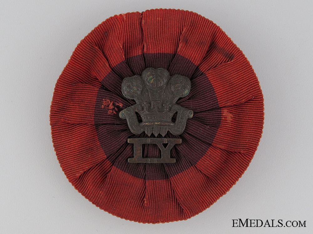 eMedals-A Boer War Royal Wiltshire Imperial Yeomanry Rosette Badge