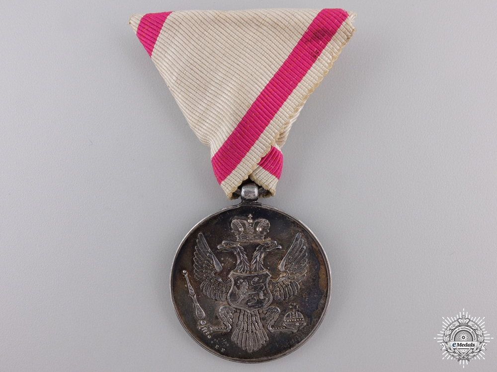eMedals-A Bravery Medal of Montenegro