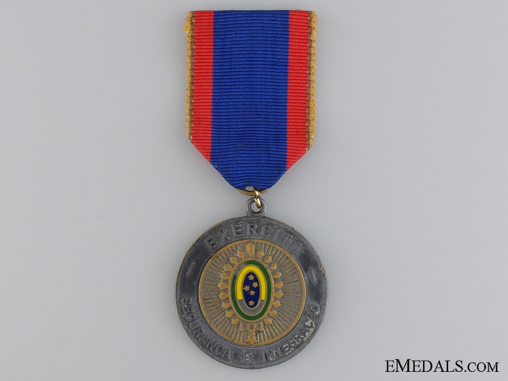 eMedals-A Brazilian Army Headquarters Medal