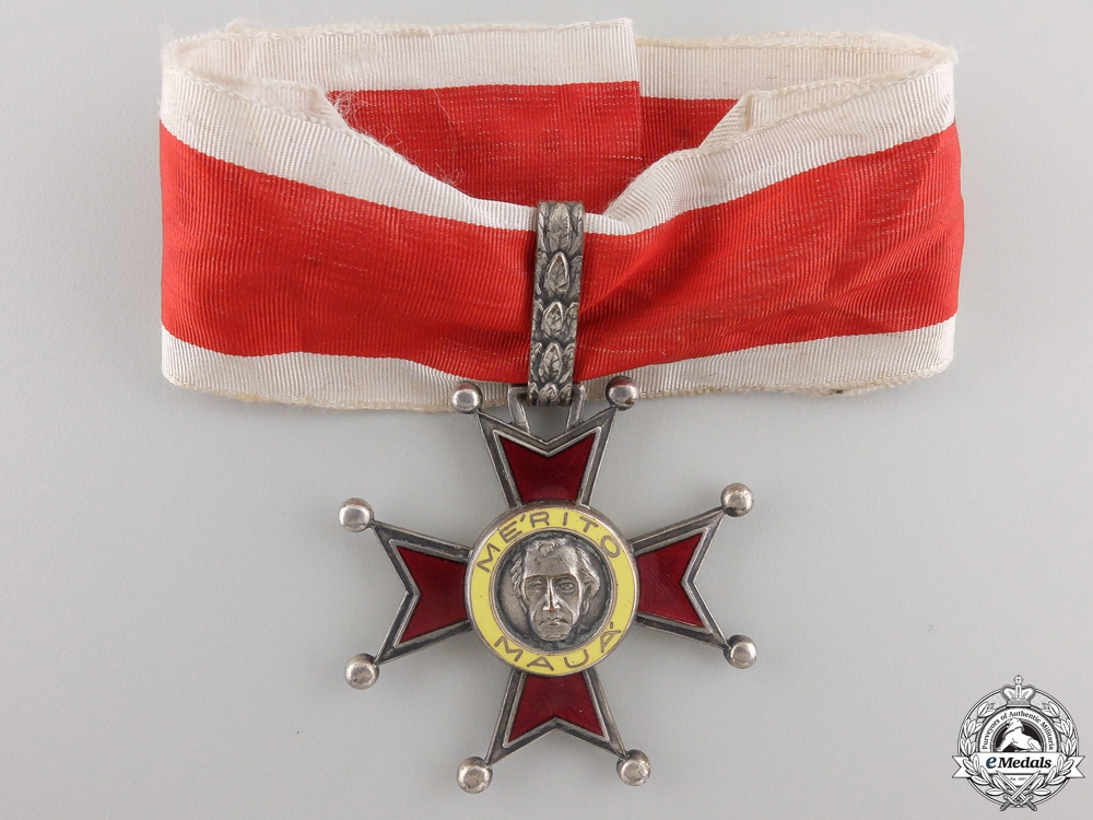 eMedals-A Brazilian Mauá Order or Merit; Commander