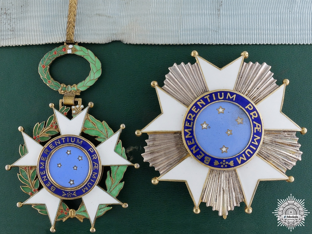 eMedals-A Brazilian National Order of the Southern Cross; Grand Officers