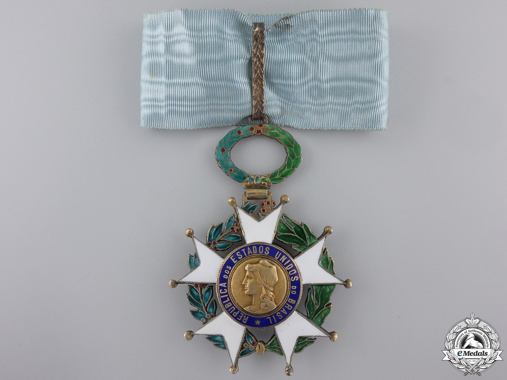 eMedals-Brazil, Republic. A National Order of the Southern Cross, Commander
