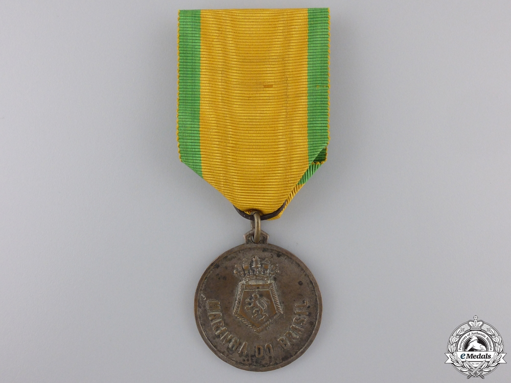 eMedals-A Brazilian Navy N E Duke of Caxias Tour Commemorative Medal 1953-1954