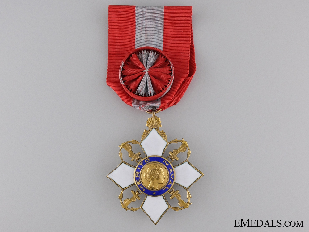 eMedals-A Brazilian Order of Naval Merit; Officer