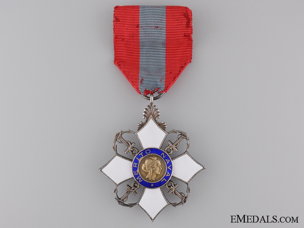 eMedals-A Brazilian Order of Naval Merit; Chevalier