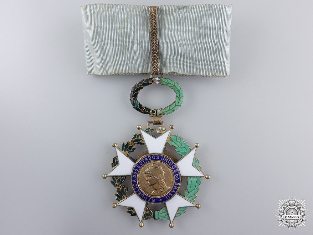 eMedals-A Brazilian Order of the Southern Cross; Commander's