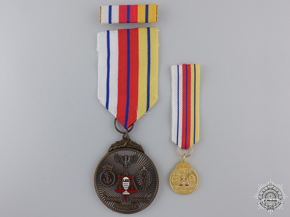 eMedals-A Brazilian Order of Judicial Military Merit