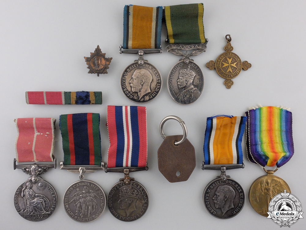 eMedals-A British Empire Medal & Family Medal Group