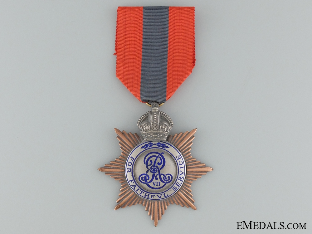 eMedals-A British Imperial Service Medal to J.W.M.
