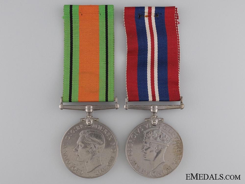 eMedals-A British Second War Medal Pair