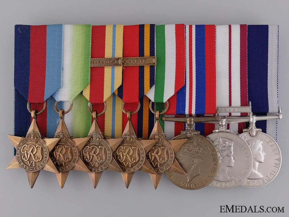 eMedals-A British Second War & Near East to Colour Sergeant Wilkins