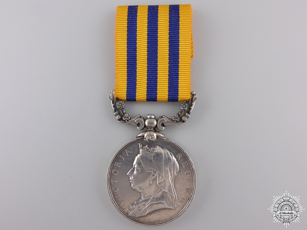 eMedals-A British South Africa Company Medal to Lieutenant Quartermaster