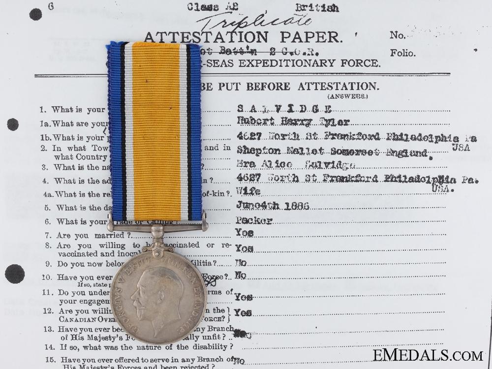 eMedals-A British War Medal to the Canadian Machine Gun Brigade CEF