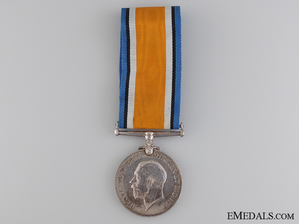 eMedals-A British War Medal to the Royal Navy Canadian Volunteer Reserve