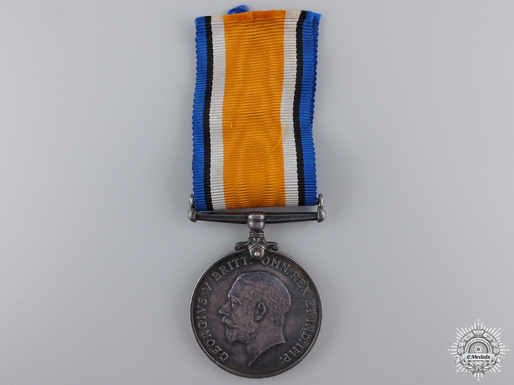 eMedals-A British War Medal to the Canadian Army Service Corps