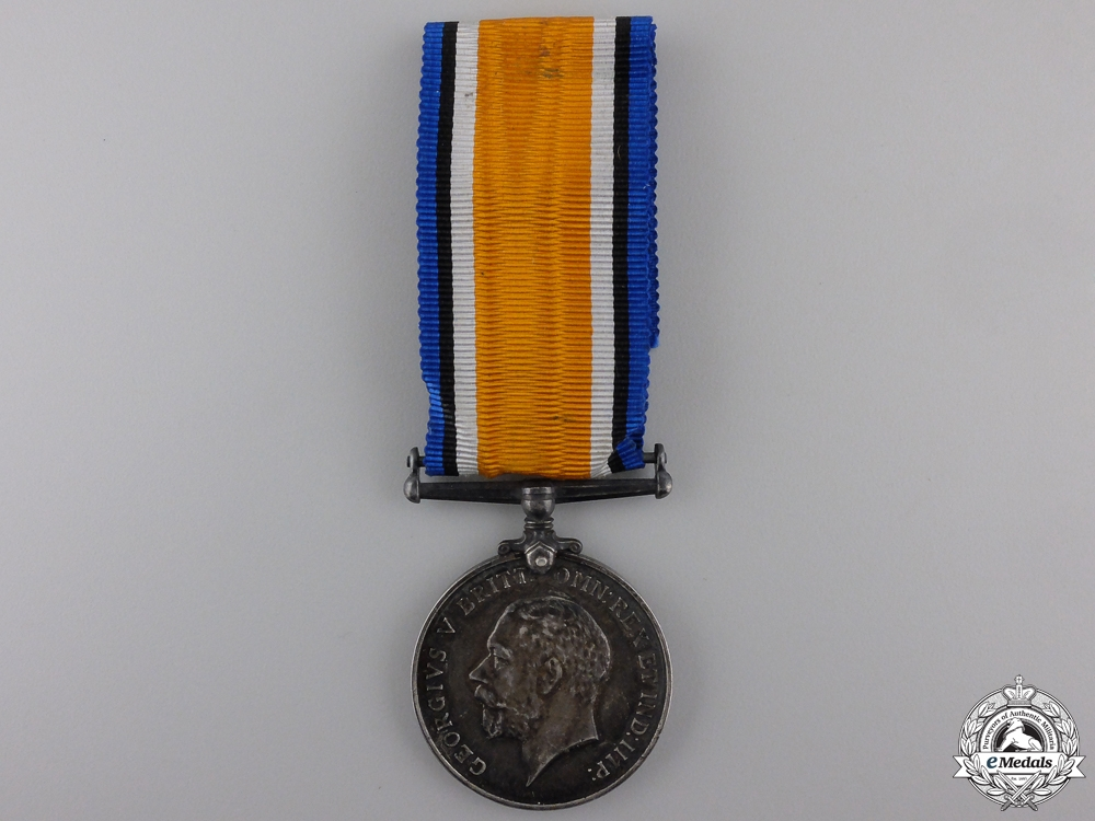 eMedals-A British War Medal to the Devon Regiment