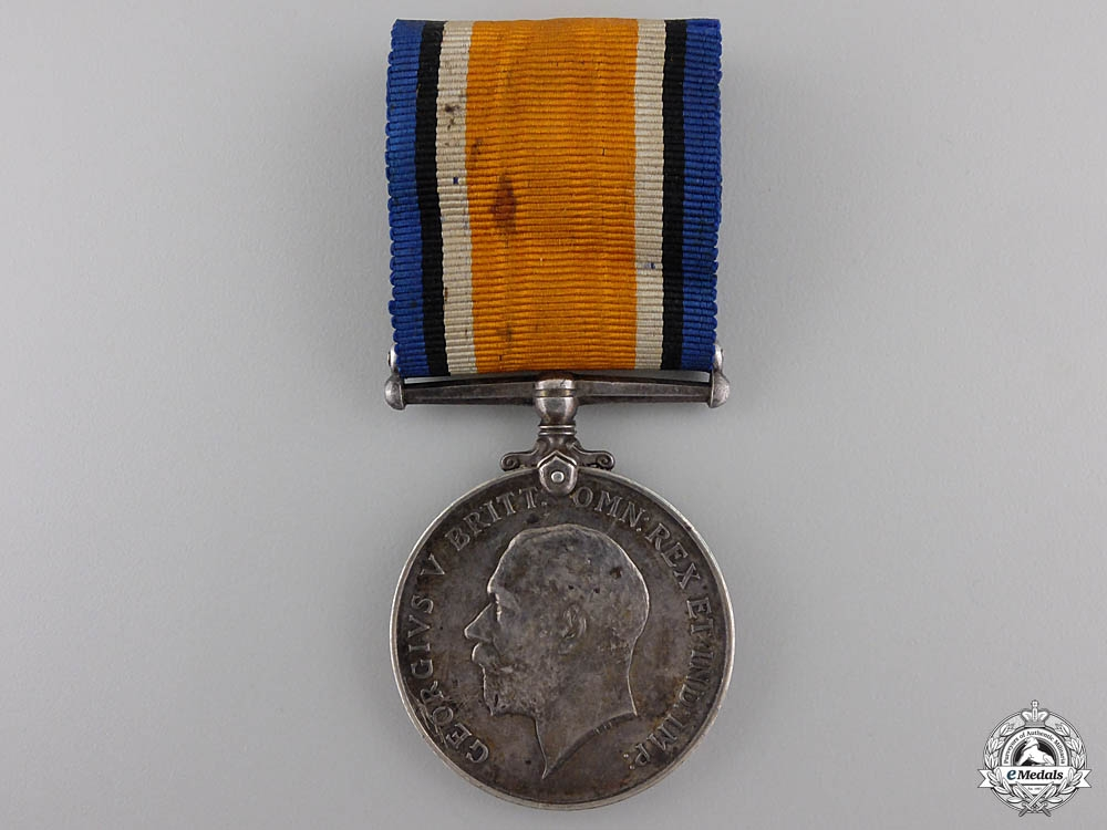eMedals-A British War Medal to Doctor & Captain E.E. Cunnah