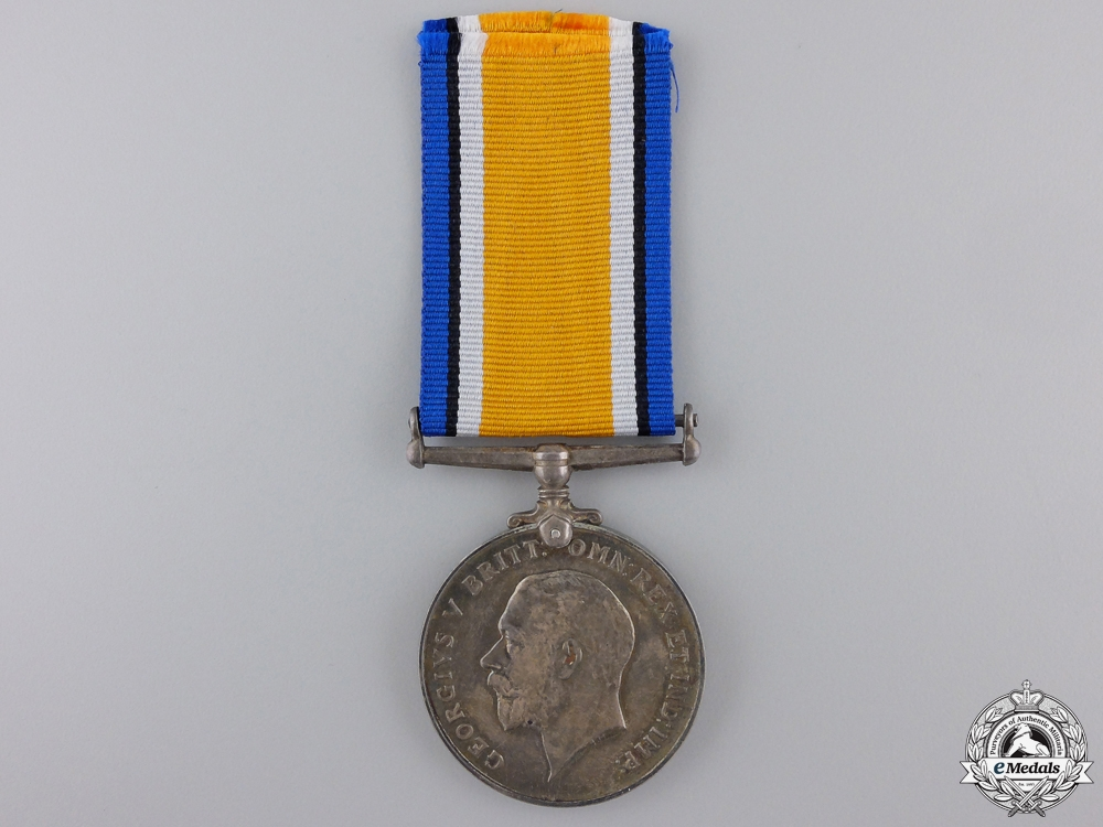 eMedals-A British War Medal to Captain Baines