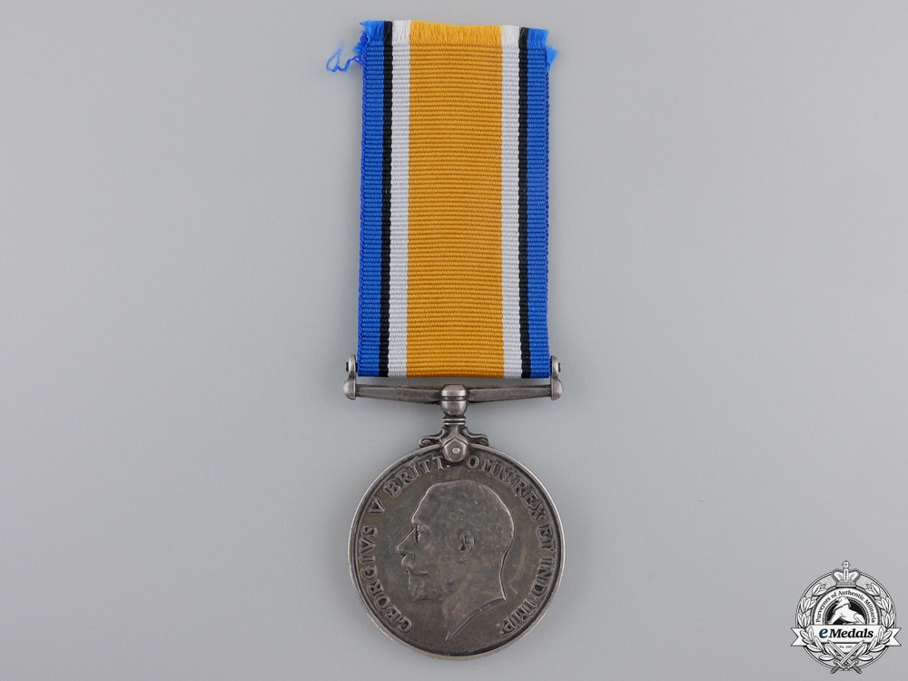 eMedals-A British War Medal to a Royal Flying Corps Causality
