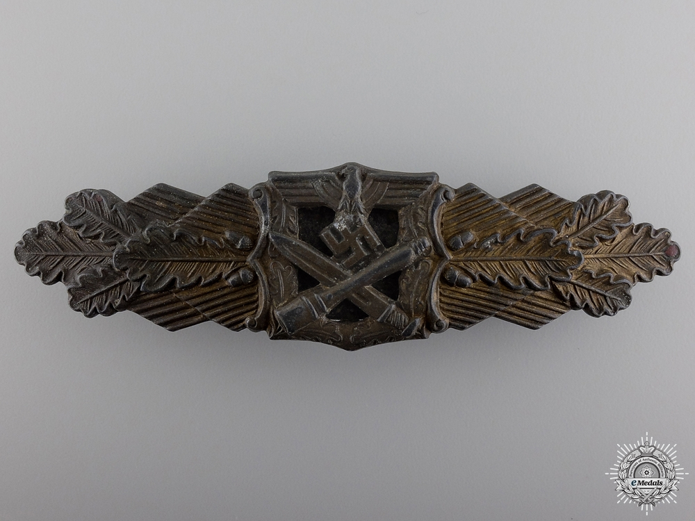 eMedals-A Bronze Grade Close Combat Clasp by R. Souval