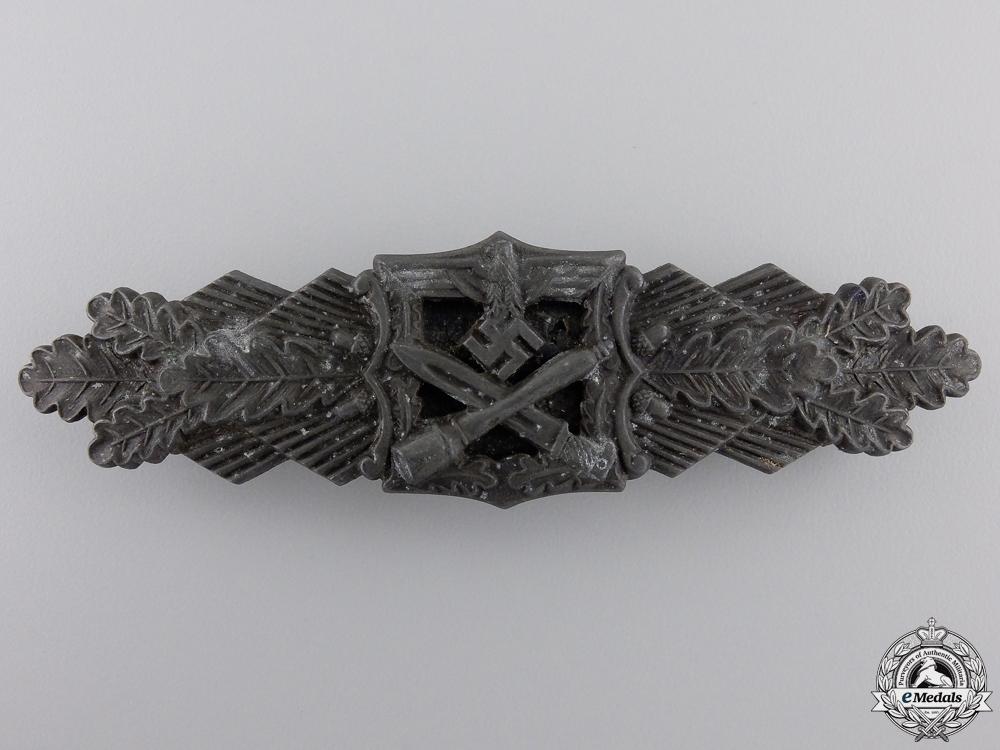 eMedals-A Bronze Grade Close Combat Clasp by Josef Feix & Söhne, Gablonz