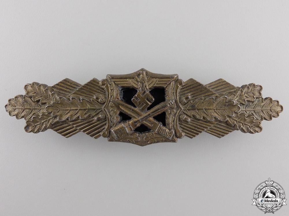 eMedals-A Bronze Grade Close Combat Clasp by Arbeitsgemeinschaft Metall und Kunststoff