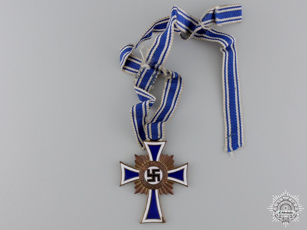 eMedals-A Bronze Grade German Mother's Cross