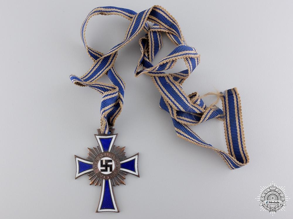 eMedals-A Bronze Grade Mother's Cross