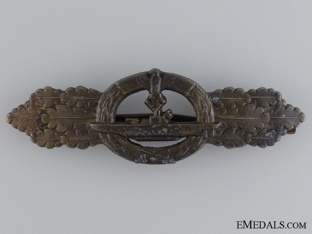 eMedals-A Bronze Grade Submarine Badge by Schwerin, Berlin