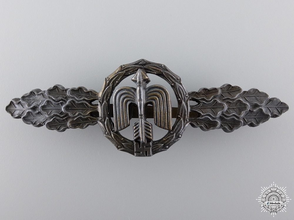 eMedals-A Bronze Grade Squadron Clasp for Fighter Pilots by Richard Simm